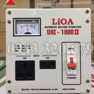 Máy Ổn áp Lioa 1KVA dải DRI 90V – 250V