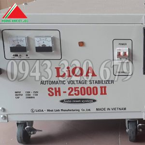 Ổn Áp Lioa 25kVA Dải SH 150V ~ 250V