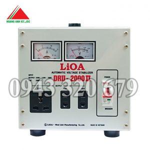 Ổn áp Lioa 2kVA dải DRII 50V ~ 250V