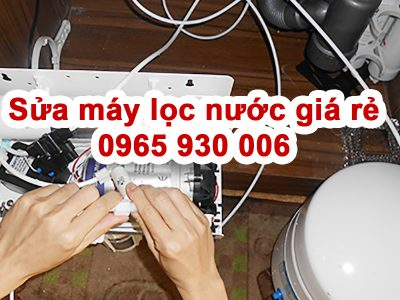 Sửa máy lọc nước Nam Từ Liêm