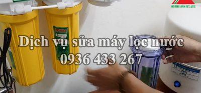 Sửa máy lọc nước ở Yên Sở, Hoàng Mai gọi là thợ tới nhanh