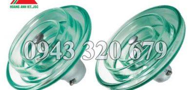 Sứ cách điện thủy tinh U120B, sẵn hàng, giá tốt