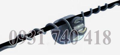 Giáp buộc polymer đơn cho cổ sứ cáp dẫn 185mm2 đến 240mm2