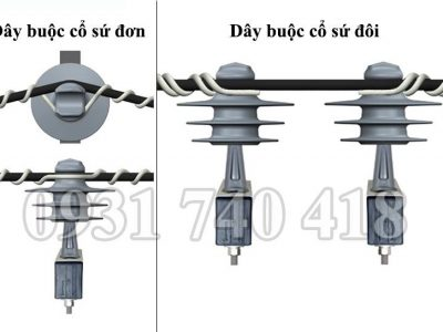 Dây buộc cổ sứ cáp bọc 23.4 mm đến 27.94 mm